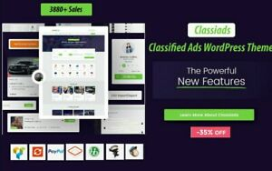1 Time Offer Classiads Classified Ads Wordpress Theme