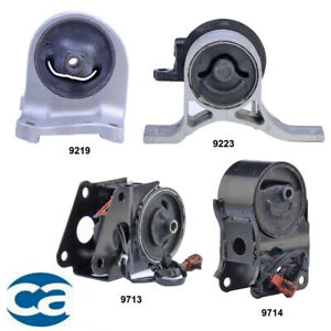 Complete Engine Motor Mount 4pcs Kit For Nissan Altima 3 5l 2002 2004 W Sensor