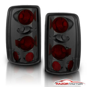 2000 2006 Chevy Suburban Tahoe Gmc Yukon Denali Xl 1500 2500 Smoke Tail Lights