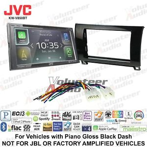 Jvc Kw V850bt Smartphone Compatible Touchscreen Radio W Carplay Install Parts
