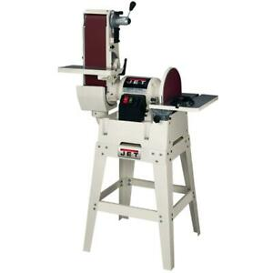 Jet-708599K JSG-6DCK 6 In. x 48 In. Belt  12 In. Disc Sander with Ope