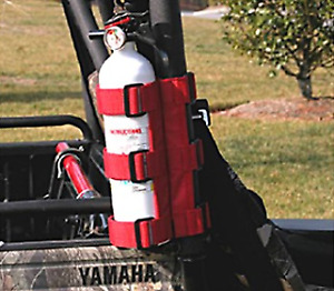 Omix Ada Fire Extinguisher Holder Red 1 3 Inch Tubes Roll Cages For Jeep Cj