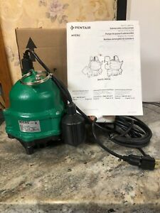 Pentair Myers 1 3 Hp Residential Submersible Sump Pump Mdc33p1