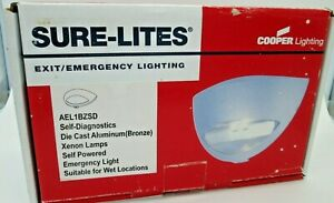 Cooper Sure lites Emergency Exit Lighting Ael1bzsd Ael1 Architectural Fixture