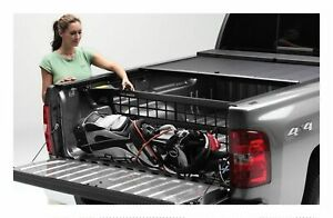 Roll n lock Cargo Manager Rolling Truck Bed Divider For 16 19 Toyota Tacoma 5