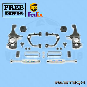 4 Ball Joint Uca Syst W Shocks Fabtech For 07 15 Toyota Tundra 2wd 4wd