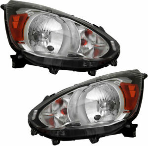 For Mitsubishi Mirage 2014 2015 2016 2017 Headlight Right Left Pair