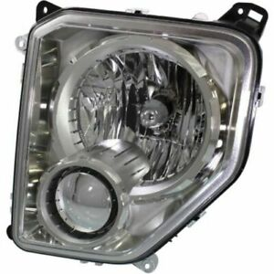 For Jeep Liberty 2008 2009 2010 2011 2012 2013 Headlight W o Fog Left Driver