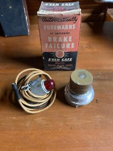 Nos Accessory Ever Safe Brake Fluid Level Alarm Hot Rat Rod Vintage Custom Rare