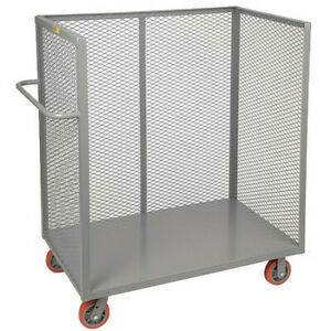 Little Giant T124486py 12 Ga Steel deck Stock Cart 3600 Lb Capacity 54