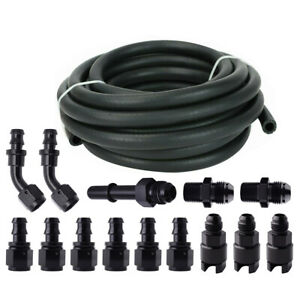 3 8 25ft Complete Ls Conversion Fuel Injection Hose Line Fitting Efi Fitting Kit