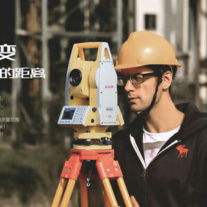 New South Total Station Nts 382r10 Color Screen Laser Prism Total Station