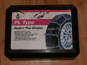 Snow Tire Chains Laclede 1130 205 45 17 205 50 17 215 40 18 215 45 17