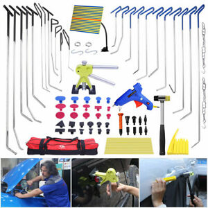 79 Paintless Dent Repair Dent Puller Lifter Spring Rods Removal Hail Pdr Tools