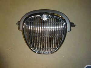 05 06 07 08 Jagaur S Type Front Chrome Grille W Badge