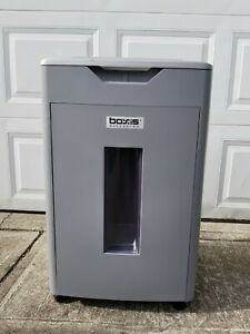 Boxis Af650 650 Sheet Auto Feed Commercial Paper Shredder With Cabinet Damage