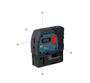 Bosch Gpl 5 S Laser Level 100 Ft 5 Point Self Leveling new