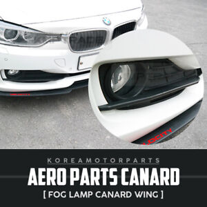 Aero Parts Fog Lamp Canard Wing Molding 2pcs For For Bmw 2012 2018 3series F30