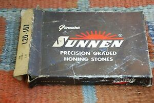 Sunnen L20 j57 Honing Hones Stones box Of 6 New Nos many Others Listed