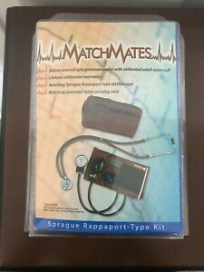 Mabis Matchmates Sprague Rappaport type Combination Kit In Black