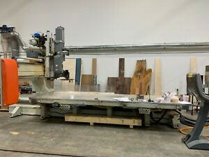 5 Axis Cms Km48 tucu Cnc Router With Tool Changer