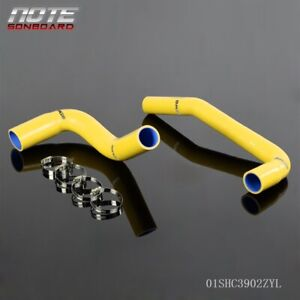 Silicone Radiator Hose Pip Kit For Jeep Wrangler Yj Tj 2 4 4 2l 87 06 Yellow
