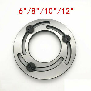 6 8 10 12 Jaw Boring Ring Lathe Chuck Adjustable Outer Clamp Three jaw