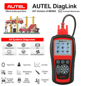 Autel Diaglink Full Systems Service Reset Obd2 Car Diagnostic Tool Auto Scanner