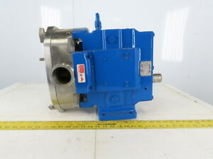 Waukesha Model 060 2 Positive Displacement Pump Stainless Steel