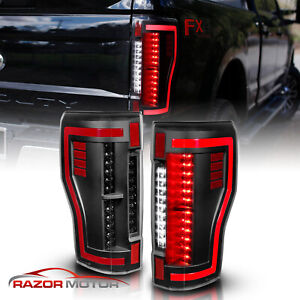 For 2017 2018 Ford F250 F350 F450 Superduty Led Light Tube Rear Brake Taillights