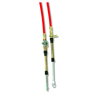 B M 80835 Replacement 10 Ft Red Super Duty Race Shifter Cable