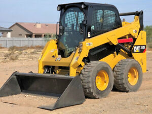 Finance With 0 Down 2016 Cat 242d Turbo Skid Steer Loader Attachments