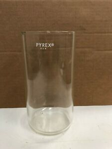 Pyrex Container tube W Flat Bottom Chemistry Lab Glassware