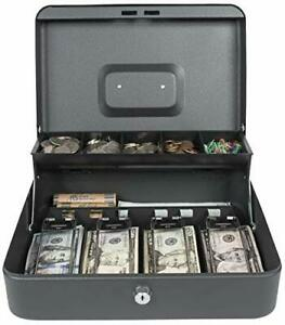 Royal Sovereign Money Handling Security Box Cash Box rscb 400 tiered tray