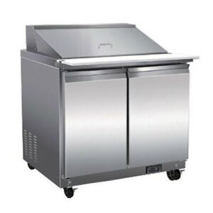 Serv ware Sp36 12m hc 36 Mega Top Sandwich Salad Unit Refrigerated Counter