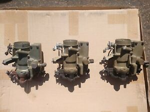 1953 1954 Corvette Yh 2066sa Side Draft Carburetors 3706989