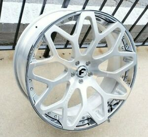 24 Forgiato Tessi Ecl Brushed Bentley Gt Gtc Audi A8 Mercedes S63 S65 S550 S600