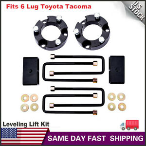 Fits Toyota Tacoma 3 Front And 2 Rear Leveling Lift Kits 1995 2004 Black Us