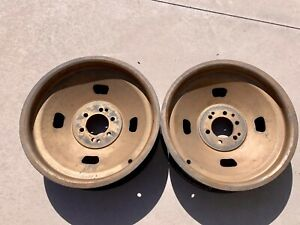 Very Rare Original 18 Halibrand Magnesium Wheels 1932 Ford Rat Rod Scta Trog