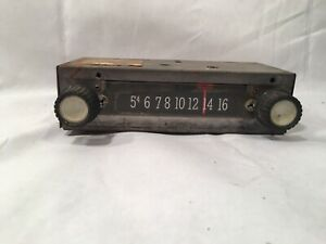 Vintage Antique Car Radio For Parts