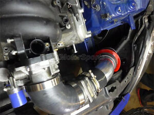 Universal 3 5 Na Cold Air Intake Pipe Kit For Gm Ls1 Lsx Lmx Lqx Motor Blue