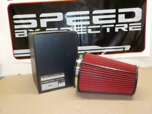 Spectre Hpr9881 Clamp on Cold Air Intake Air Filter 6 Flange 10 25 Tall