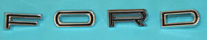 New 1965 1967 Ford Letter Set Tailgate Hood Fairlane Falcon Ranchero
