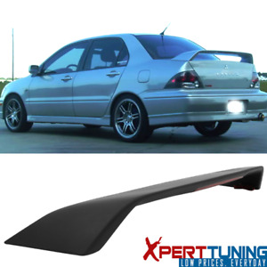 Fits 02 07 Mitsubishi Lancer Evo Oe Factory Abs Trunk Spoiler 3rd Led Light