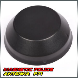 Replacement Low Profile P71 Crown Victoria Impala Police Antenna Black