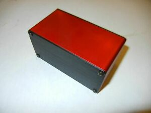 Aluminum Project Box Enclosure 2 X 4 X 2 Gk4 2 Red Color One Lot Of 20 Pcs