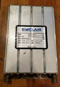 Sinclair 4 cavity 440 512 Mhz 5 Mhz Bw Preselector Filter Rm31204n Uhf Band