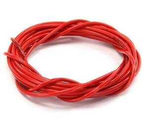 Nitrous Outlet Red Nylon Hose 1 16 Id 1 8 Od 1 32 Wall