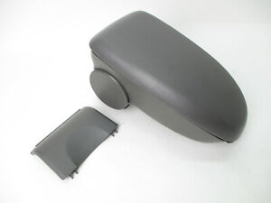 Ford Focus Center Console Arm Rest Lid Top Pad Storage Box Shroud Gray 00 07