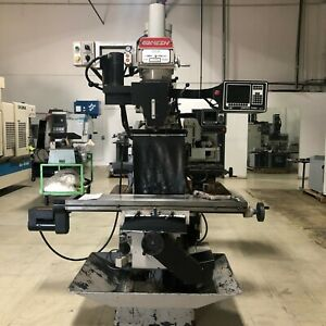 Ganesh Deluxe Gmv 3 Variable Speed Cnc Milling Machine With Dro